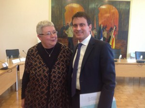 Michèle Wax & Manuel VALLS